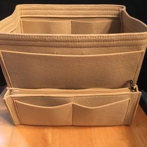 Handbags - Purse Tote L insert + Zip Case divider Protector